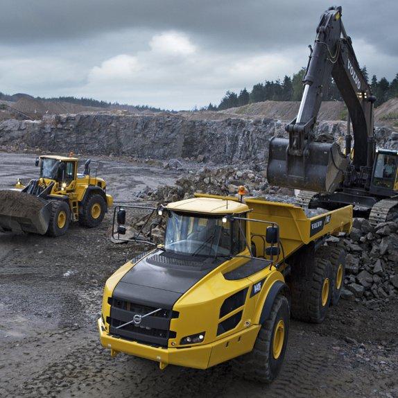 Radiators for excavators and trucks