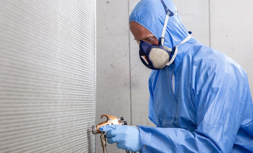 Покрытие микроканальных теплообменников